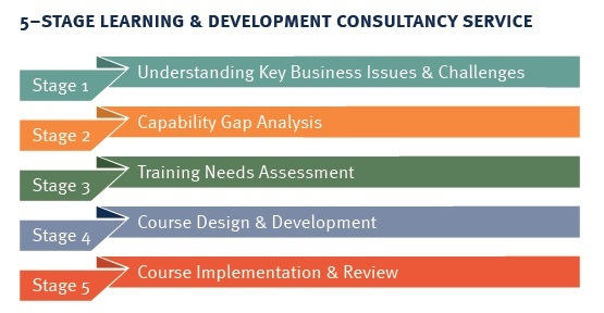 5 Stage Learning and Development Consultancy Service
